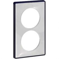 Odace You Transparent, plaque de finition support Anth. 2 postes entraxe 57mm (S540914W)