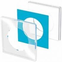 Schneider S520902w - plaque odace you transparent 1 poste