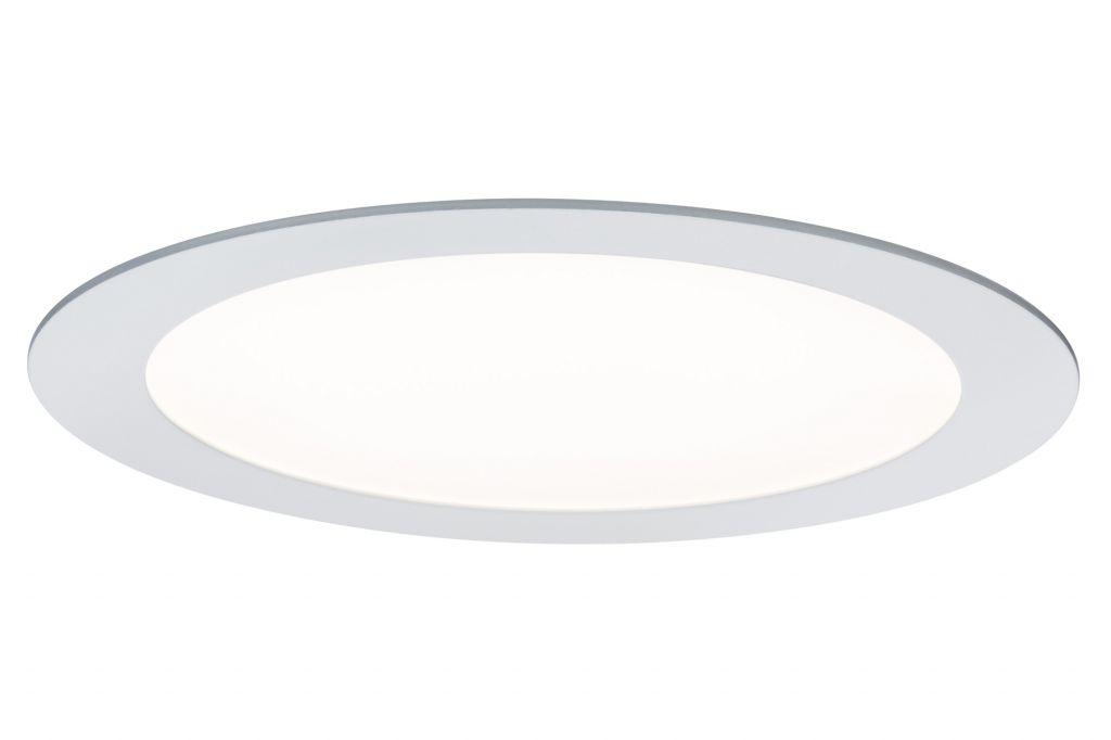 paulmann 50026 panneau encastrable led smarthome rond 3 5 w blanc avec commande d 39 clairage. Black Bedroom Furniture Sets. Home Design Ideas