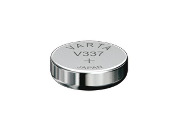 Pile bouton pour montre 1.55v-8.3mah 337.101.111 (1pc/bl) (V337)