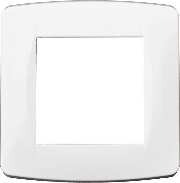 Plaque blanche 1 poste (50 piéces, special chantier)