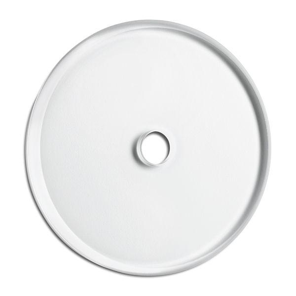 Plaque de finition simple verre pour composants sans corps central (100608)