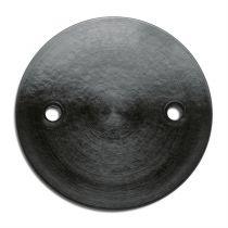 Plaque de montage bakelite noire (184619)