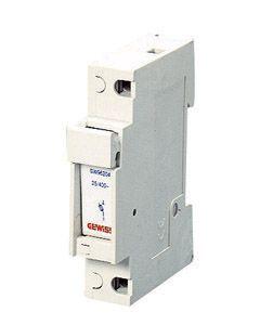 Gewiss gw96206 porte fusible sectionneur 1p 8 5x31 5 400v 20a 1 module - Sectionneur porte fusible telemecanique ...