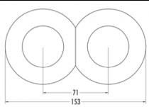 Prise haut parleur WBT bakelite noire (100737)