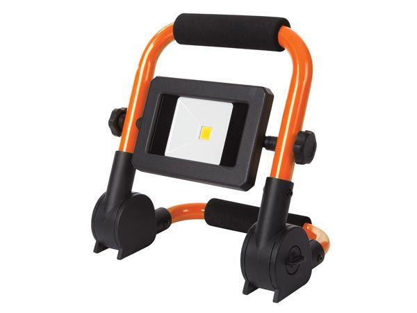 PROJECTEUR DE CHANTIER PORTABLE À LED - PLIANT - 10 W - 4000 K (EWL511)