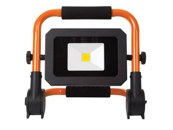 PROJECTEUR DE CHANTIER PORTABLE À LED - PLIANT - 20 W - 4000 K (EWL512)