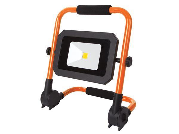 PROJECTEUR DE CHANTIER PORTABLE À LED - PLIANT - 30 W - 4000 K (EWL513)