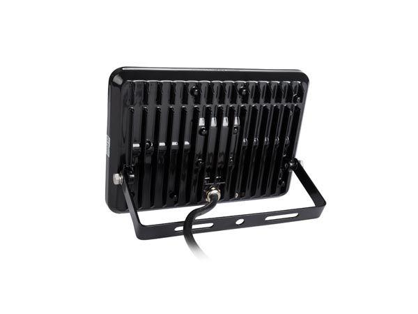 Projecteur led design - 20 w, blanc neutre - noir (LEDA5002NW-B)