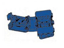 Raccord instantane bleu, 10pcs/blister (FBQS)