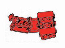Raccord instantane rouge, 100pcs (FRQS/100)