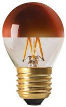 """Sphérique G45 Filament LED \""""Calotte Bronze\"""" 4W E27 2700K 350Lm Dimmable (15657)"""