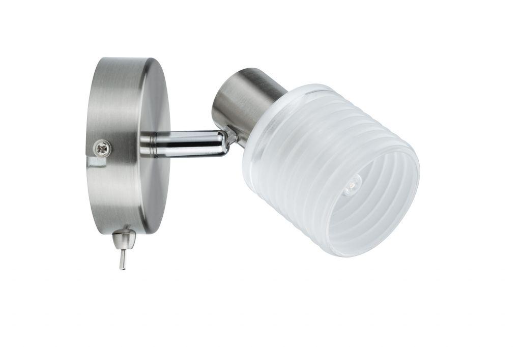 Spot LED Helix 1x2,2W G9 nickel brossé   (60198)