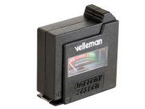 Testeur de piles de velleman - format de poche (BATTEST)