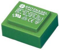 Transformateur moule e230v s:2x15v 1,8va