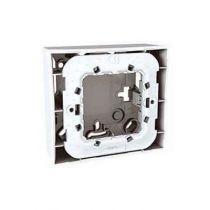 Unica gris boîte pour montage en saillie 1 poste 2 modules