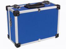 Valise aluminium 330 x 230 x 150mm - bleu (1821-BL)