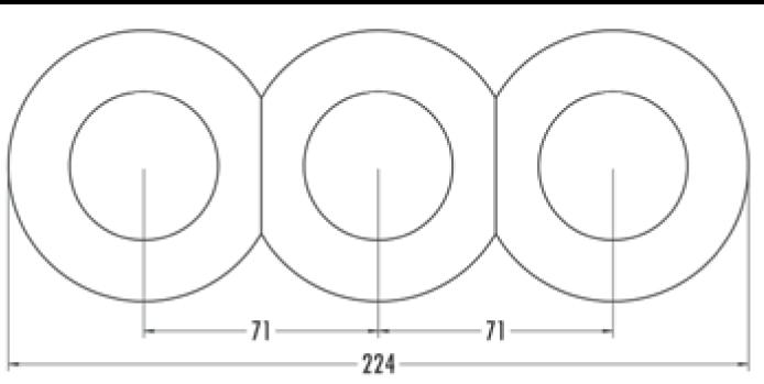 Variateur LED 7-110 W Bakelite blanche (100312)