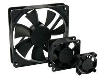 Ventilateur 12vcc roulement à palier lisse 80 x 80 x 25mm (BLS12/80)