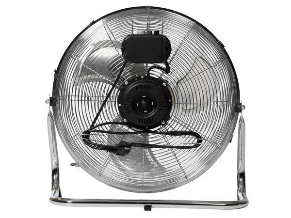 """Perel CFANF45N Ventilateur de sol 45 cm 18"""" métallique"""