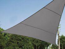 VOILE SOLAIRE PERMÉABLE - TRIANGLE - 3.6 x 3.6 x 3.6 m - COULEUR: ANTHRACITE (GSS3360PEC)