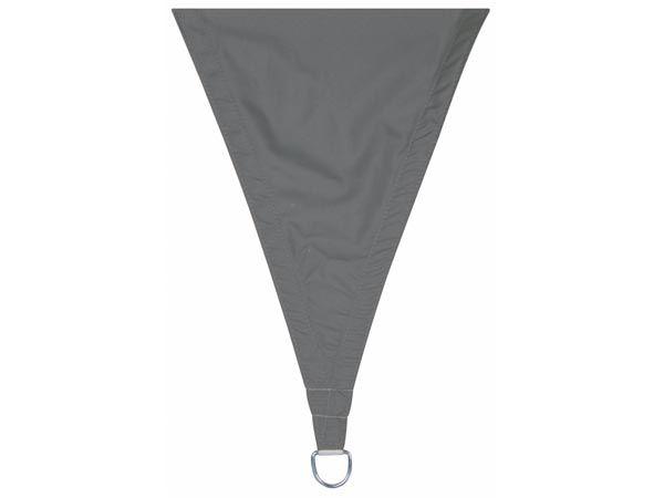 VOILE SOLAIRE PERMÉABLE - TRIANGLE - 5 x 5 x 5 m - COULEUR: ANTHRACITE (GSS3500PEC)