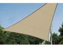 Voile solaire perméable - triangle 3.6 x 3.6 x 3.6m, couleur: beige (GSS3360PE)