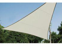 Voile solaire triangulaire - 3.6 x 3.6 x 3.6m, couleur: crème (GSS3360)